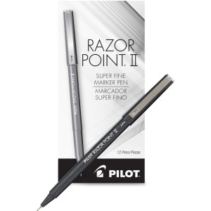 Pilot Razor Point Super Fine Point Razor II Markers