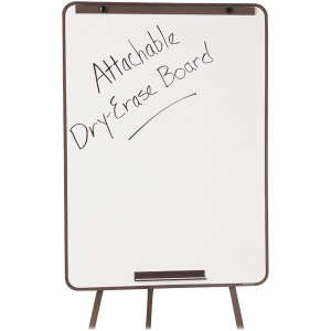 Quartet® Attachable Whiteboard for Steel Tripod Display Easel