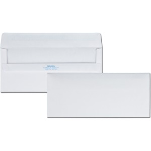 Quality Park Redi-Seal Plain Business Envelopes