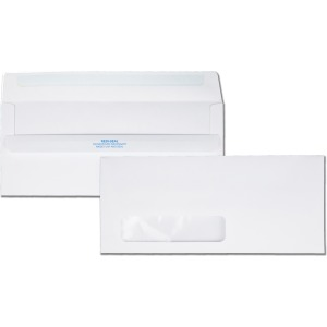 Quality Park Redi-Seal No. 10 Window Envelopes