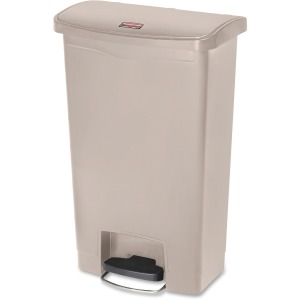 Rubbermaid Commercial Slim Jim 13G Front Step Container