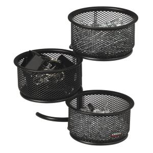 Rolodex Mesh 3-Tier Swivel Tower