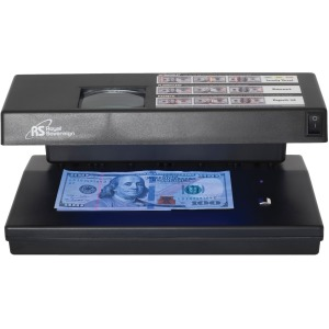 Royal Sovereign 4 Way Counterfeit Detector with UV, Magnetic Ink, Infrared and Microprint detection