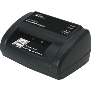 Royal Sovereign Quick scan counterfeit detector detects fake bills with 1/2 second scan time