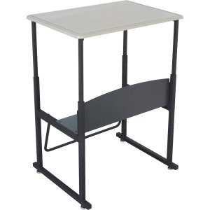 Safco AlphaBetter Desk, 28 x 20 Standard Top, with out Book Box