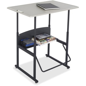 Safco AlphaBetter Adjustable Height Computer Desk