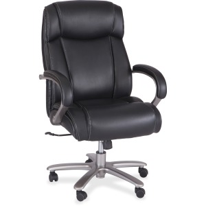 Safco Big & Tall Leather High-Back Task Chair