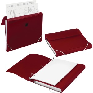 Samsill Duo 2-in-1 Organizer/Ring Binder