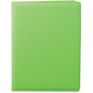 "Letter - 8 1/2"" x 11"" Sheet Size - 3 Pocket(s) - Polyvinyl Chloride (PVC) - Lime - 1 Each"