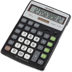 Sharp Calculators Sharp ELR297 Recycled Calculator