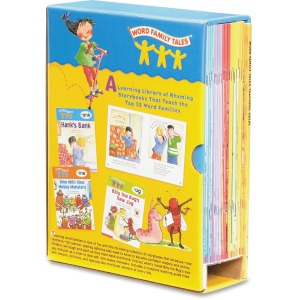 Scholastic Res. Word Family Tales Book Set Activity Printed Book