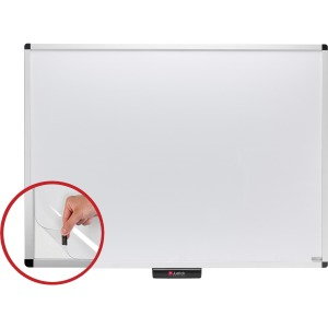 Justick Premium Alum. Frame Dry-Erase Board with Justick Electro Adhesion Surface Technology