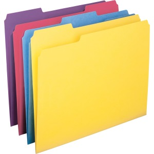 Smead Colored Folder with Antimicrobial Product Protection