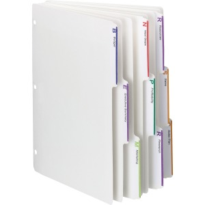 Smead 3-ring Binder Index Dividers