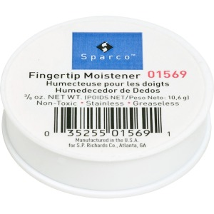 Sparco 3/8 Oz. Greaseless Fingertip Moistener