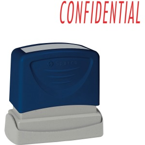 Sparco CONFIDENTIAL Red Title Stamp