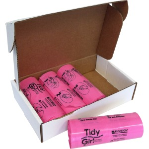 "7.25"" Width x 14"" Length x 1.20 mil (30 Micron) Thickness - Pink - Plastic - 600/Box - Sanitary"