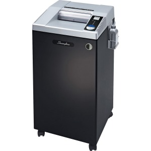 Swingline® TAA Compliant CHS10-30 High Security Commercial Shredder, Jam-Stopper®, 10 Sheets, 20+ Users