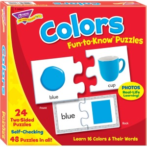 Trend Colors Fun-to-know Puzzles