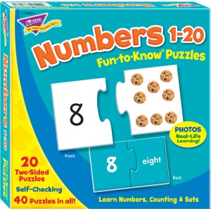 Theme/Subject: Learning - Skill Learning: Number Recognition, Counting - 40 Pieces