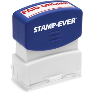 Stamp-Ever PAID ONLINE Pre-inked Stamp