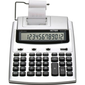 Victor 1212-3A 12 Digit Commercial Printing Calculator
