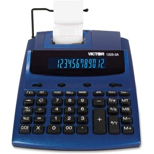 Victor 1225-3A 12 Digit Commercial Printing Calculator