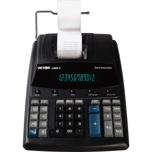 Victor 1460-4 12 Digit Extra Heavy Duty Commercial Printing Calculator