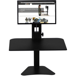 Victor High Rise Manual Standing Desk Workstation