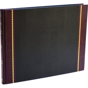 "Wilson Jones® Visitors Register Book, 9 1/2"" x 12 1/4"", 3,400 Entries, 208 Pages"