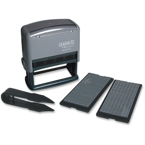 Xstamper Self-Inking Message Stamp Kit
