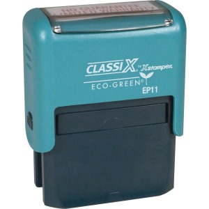 Xstamper Custom Self-ink 1-4 Line Message Stamp