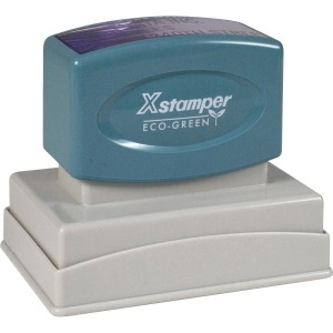 Xstamper Large Custom Endorsement Stamp
