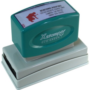 Xstamper Two-Color Custom Stamp