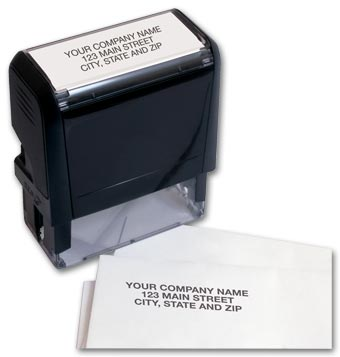 Name & Address Stamp - Self-Inking