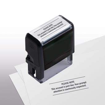 Please Note Stamp - Self-Inking