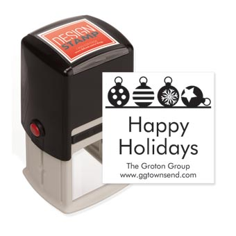 Ornamental Bliss Design Stamp - Self-Inking