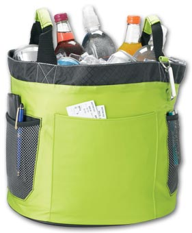 Sample Party Cooler Tub with Bottle Opener