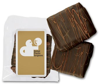2 pc Chocolate Dipped Graham Crackers