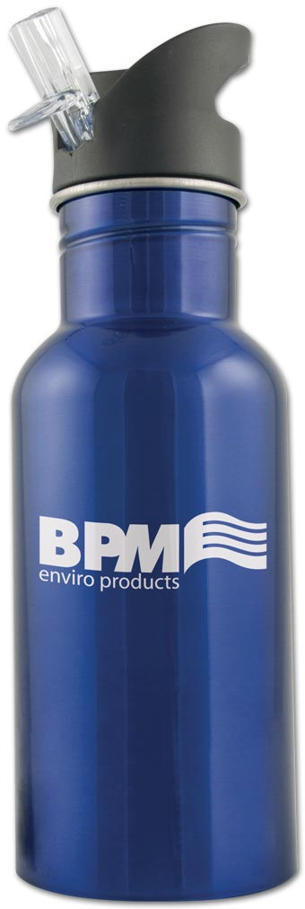 Stainless Wide Mouth Sport Bottle 16oz.