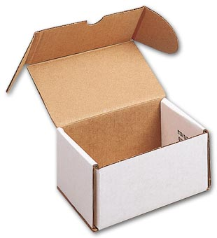 Dental Mailing Model Boxes - Double, White