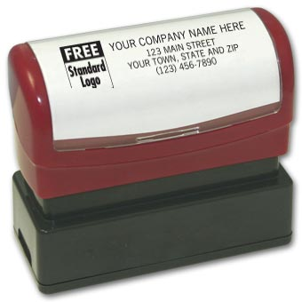 Name & Address Stamp - Pre-Inked