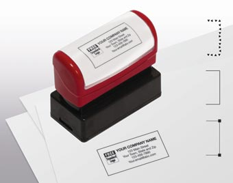 Name & Address Stamp, Medium - Pre-Inked