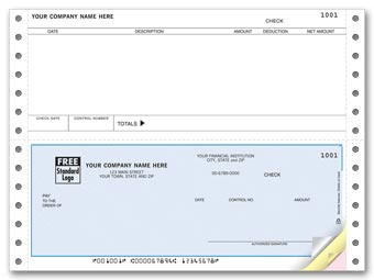 Continuous Checks, Accounts Payable, Great Plains Compatible 2-part