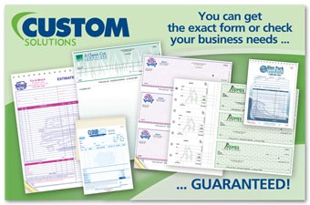 Custom Solutions Postcard