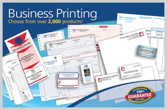 Large Business Printing Postcard