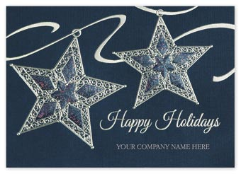 Star Shine Holiday Cards