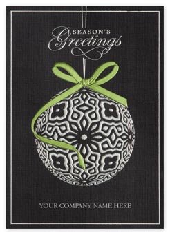 Crystal Ball Holiday Cards