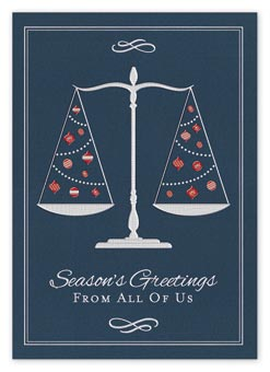 From The Firm Attorney Legal Holiday Cards