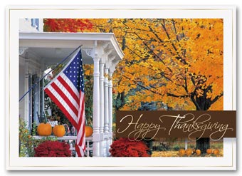 Golden Days Thanksgiving Cards